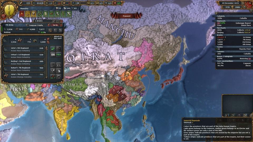 EU4 Fragmented Ming