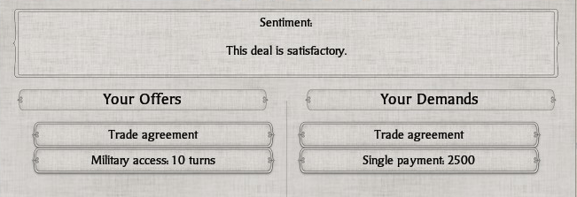 S2 satisfactory trade deal
