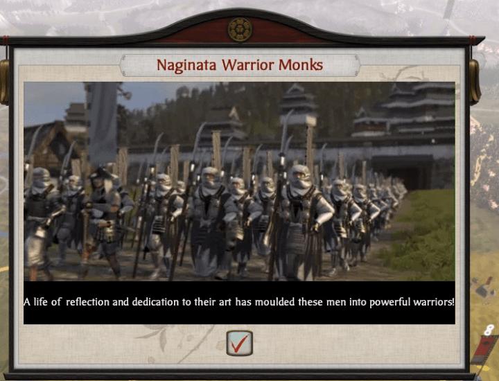 S2 Naginata Monks recruited