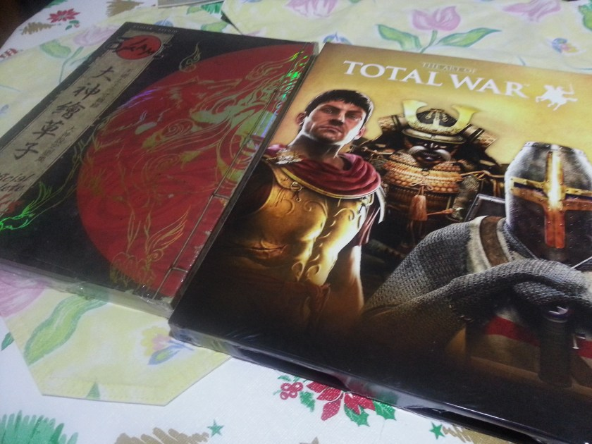 The Art of Total War & Okami Official Complete Works