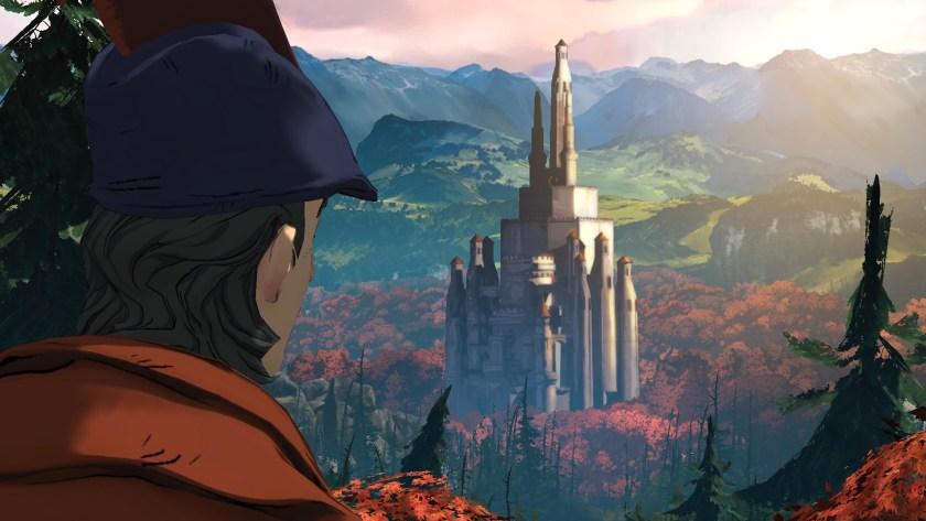 Kings Quest start
