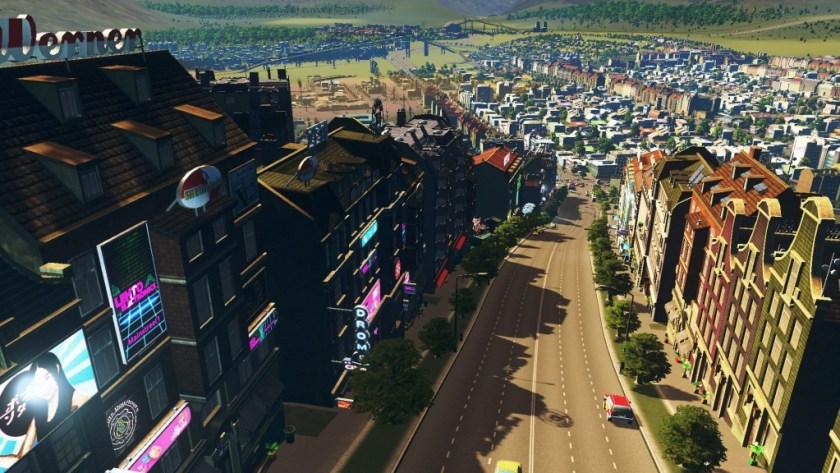 Skylines - Bustling street