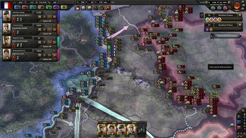 HOI4 French Battle Plans