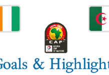 Can 2019 - Côte d'Ivoire VS Algeria