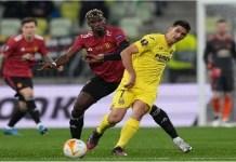 EUROPA LEAGUE - Villarreal vs Manchester United