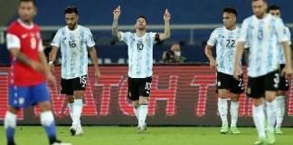 COPA AMERICA - Argentina VS Chile