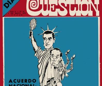 Revista Cuestión N° 18 Acuerdo Nacional: ¿El pueblo donde está?