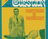 Revista Cuestión N° 13 Prontuario de Bordaberry