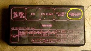 Fuel pump fuses  Nissan 240SX Forums