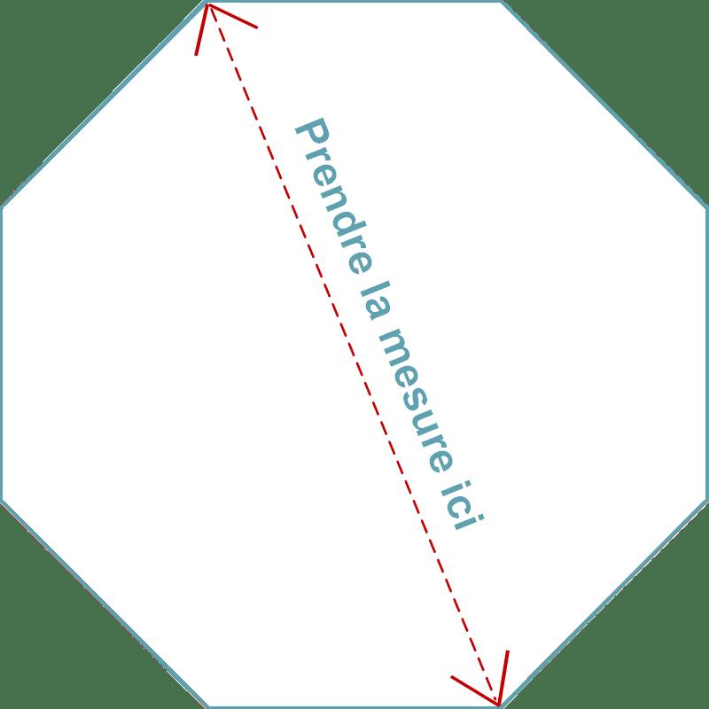 matelas octogonal parc bebe 108x108