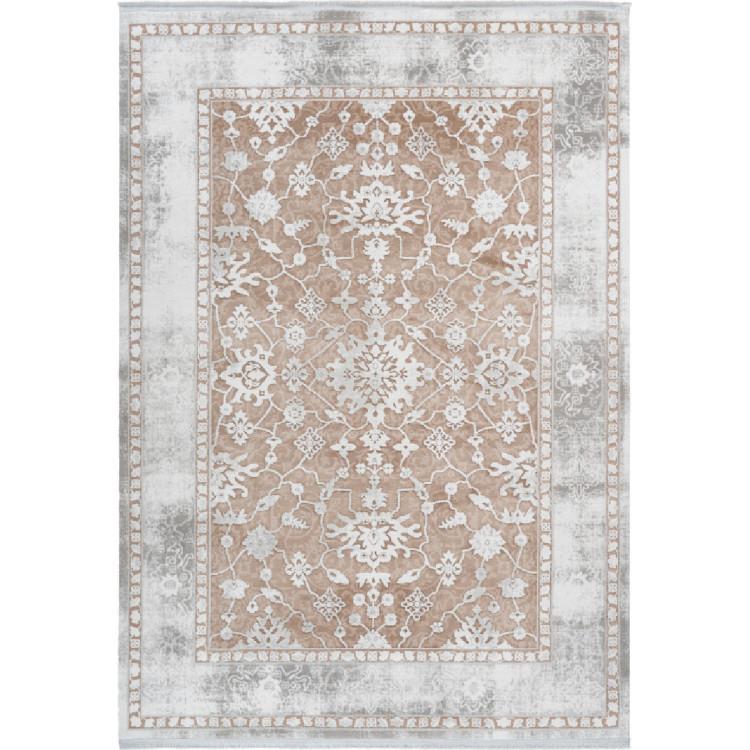 tapis vintage ethnique avec franges doux pour salon opera