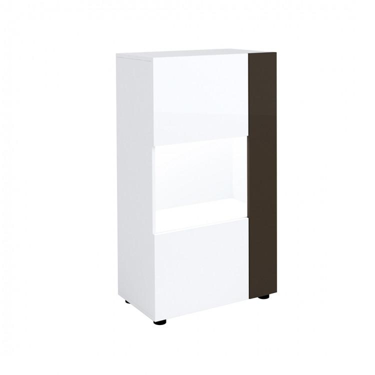 meuble de rangement moderne blanc noir emeraude
