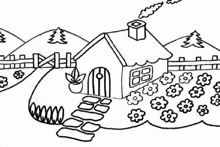 best Dibujos De Paisajes De Montaña Para Colorear image collection