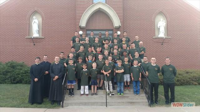Milites Christi Summer Boys' Camp Sponsored by Mater Dei Seminary