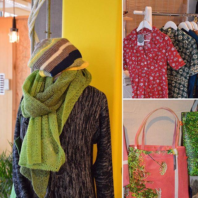 Ekologiska kläder och väskor av återvunna reklambanners. Titta in i vår Popup på Järntorgsgatan 6, nu har vi öppnat ECOmarket i våra lokaler #materiapopup #ecomarket #urbica #leluma #byph