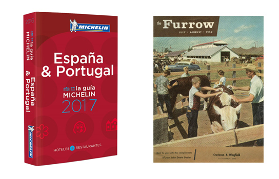 guías Michelín y The Furrow