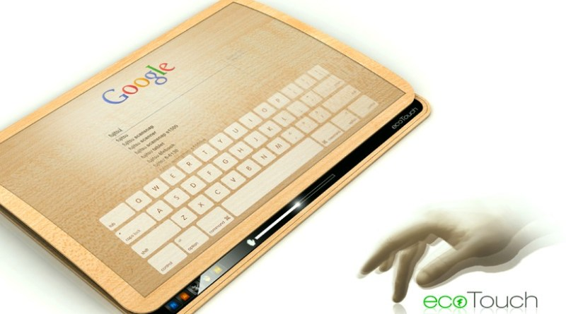 Tablet conceitual ecoPad