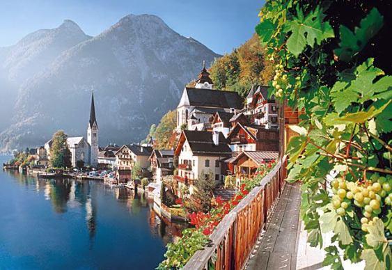 Cidade austríaca clonada pelos chineses