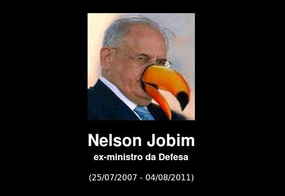 Nelson Jobim tucano