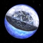 Brilhante! Descoberto planeta quase todo composto por diamantes