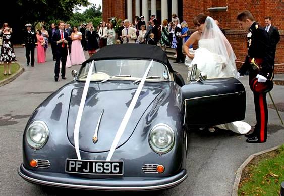Noiva transforma Volkswagen em Porsche 356