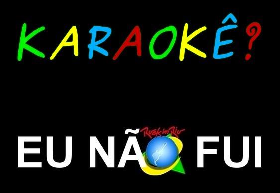 Símbolo Rock in Rio - Eu Não Fui