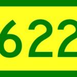 622 reais é o valor do salário mínimo a partir de janeiro de 2012