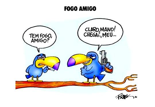 Briga de políticos do PSDB