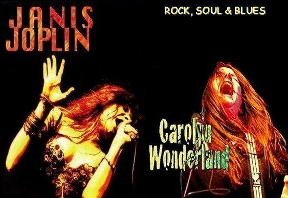 Divas do Rock, Soul e Blues