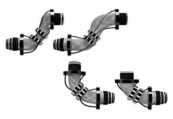 Máquina fotográfica flexível