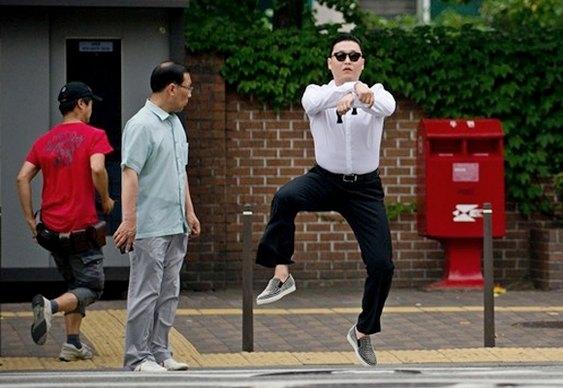 Dança em Gangnam Style