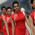 Red Hot Grid Girls do Grande Prêmio da Índia 2012 de Fórmula 1