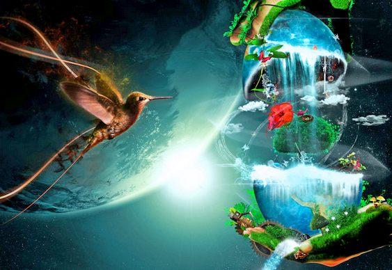 Arte Fantástica - Pássaro Mágico