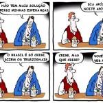 Velha mídia neoliberal tenta estrangular soberania do Brasil