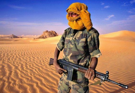 Guerrilheiro africano