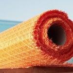 Reforço contra desabamentos com fibras de vidro e polipropileno