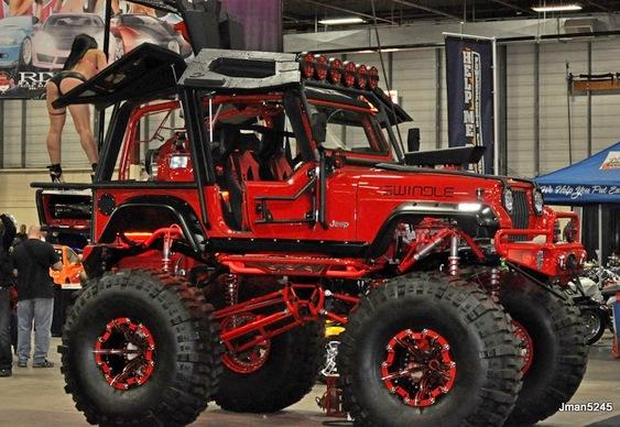 Jeep modificado