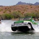 Sensacional! Jipe Panther, o carro anfíbio mais veloz do mundo