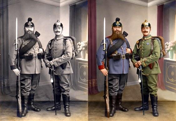 Colorização de fotos antigas