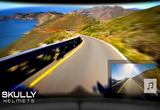 Display de realidade aumentada