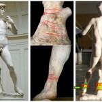 Davi de Michelangelo pode cair por rachaduras nos tornozelos