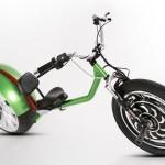 Mini chopper elétrica roda mais de 500 km com menos de 1 dólar