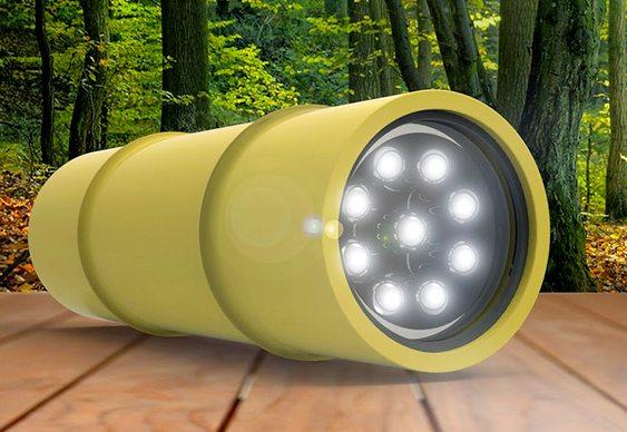 Lanterna sustentável