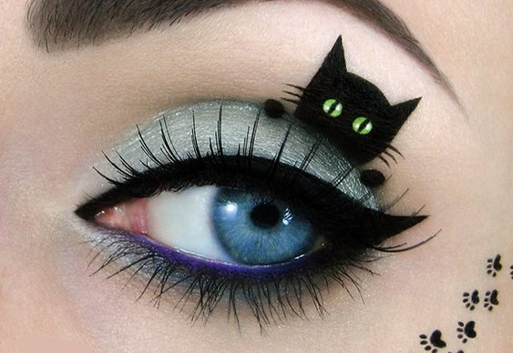 Make-up de gatinho