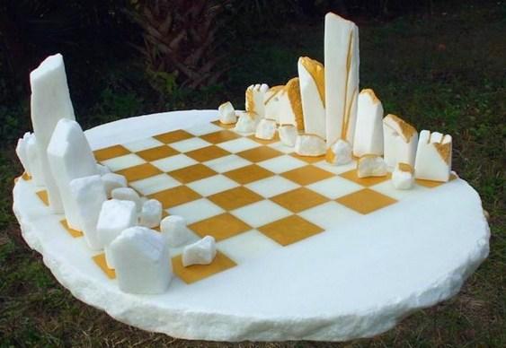 Resultado de imagem para peças esculturais de xadrez