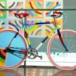 Bicicleta colorida: ideias para a revitalização da pintura