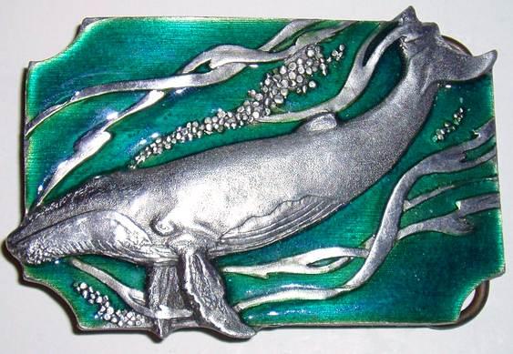 Escultura de baleia jubarte