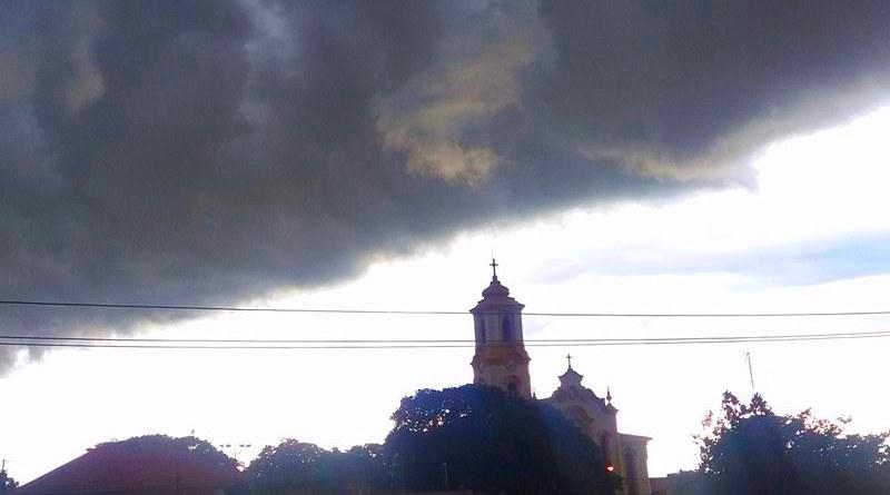Tornado perto de ingreja paulista