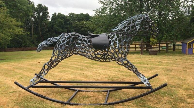 Escultura para haras e fazenda
