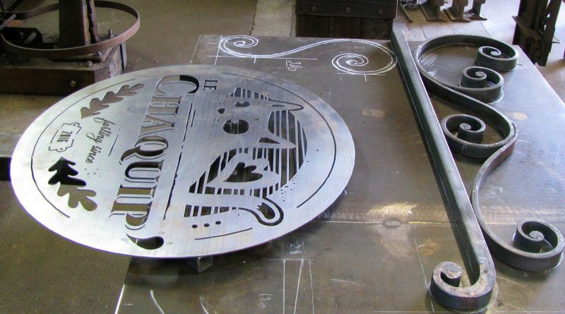 Fábrica de letreiros de metal